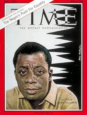 Baldwin - time cover