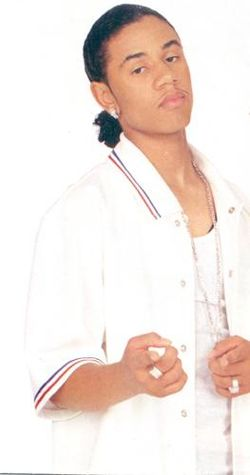 Lil Fizz in WHITE