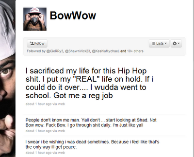 Bow Wow - suicidal-tweet