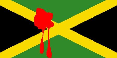 Jamaica-flag - bloody