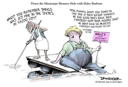 Haley Barbour Racist