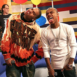 Chris-brown-and-bow-wow-making-faces