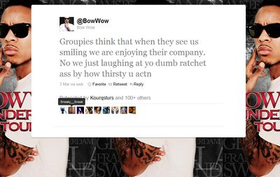 Bow Wow_stupid tweets