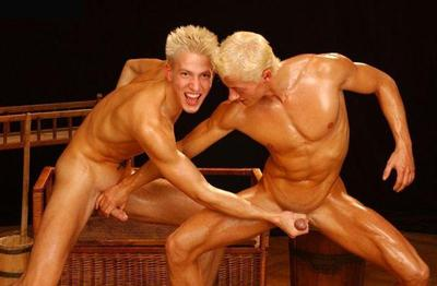 Twins naked carlson